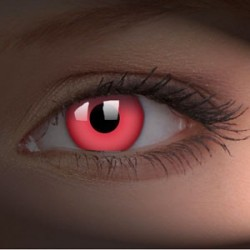 svítící CRAZY glow red UV...