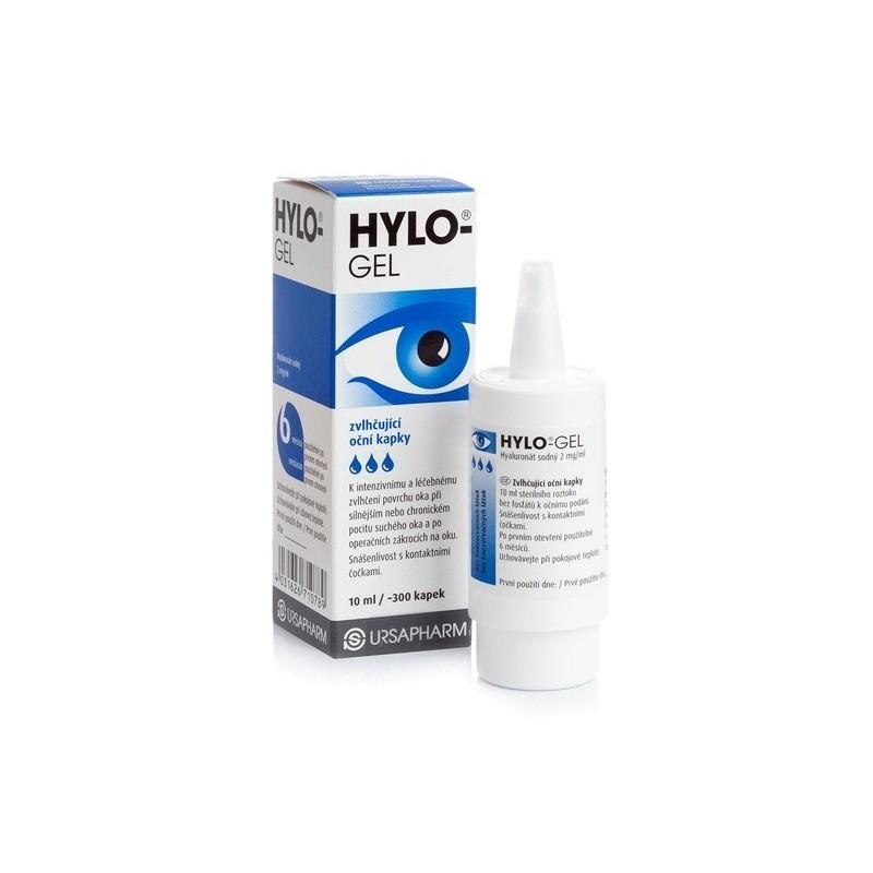 oční kapky HYLO-GEL 10 ml